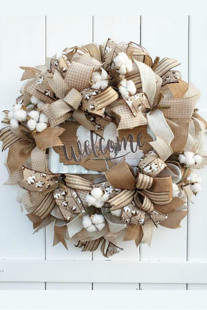 Halloween Wreath, Jack O'Lantern Wreath, Pumpkin Wreath
