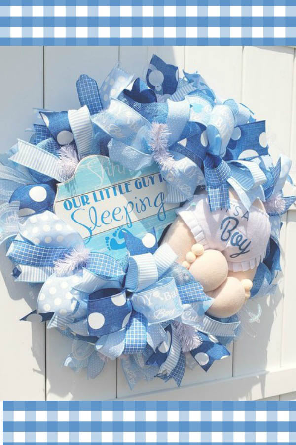 easter wreath, bunny wreath, easter welcome wreath, bunny welcome wreath