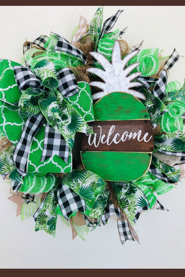 spring welcome wreath, everyday wreath