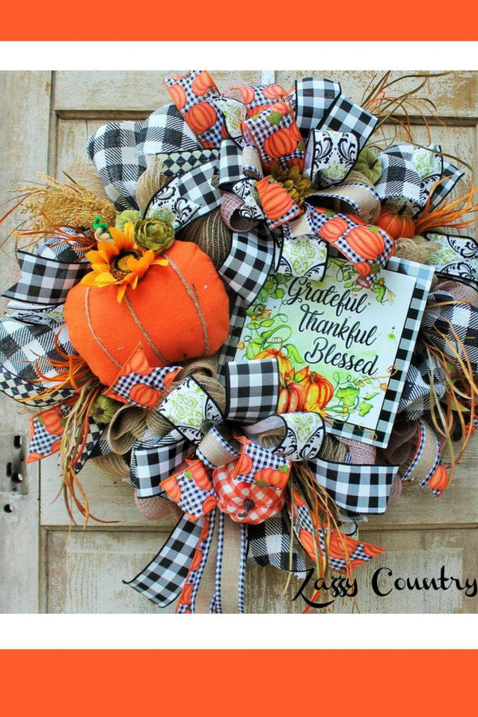 Halloween Wreath, Trick or Treat Wreath