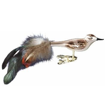 Leader of the Flock Clip on Bird Christmas Ornament Inge-Glas of Germany 1-055-11
