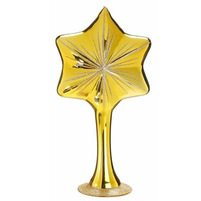 Guiding Star Glass Tree Topper Inge-Glas of Germany 1-089-12