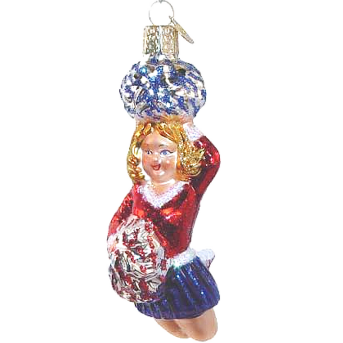 Cheerleader Christmas Ornament 10164 Old World Christmas