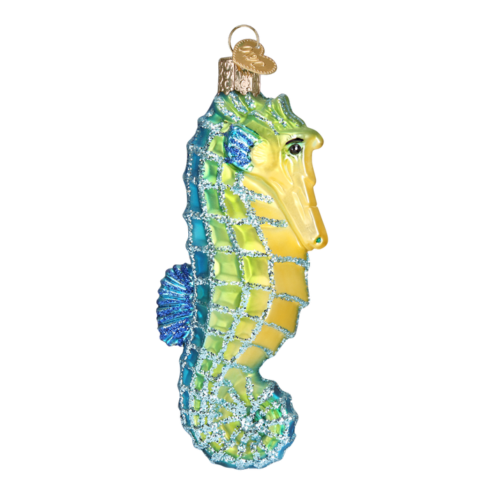 Sea Horse 12039 Old World Christmas Ornament Assorted