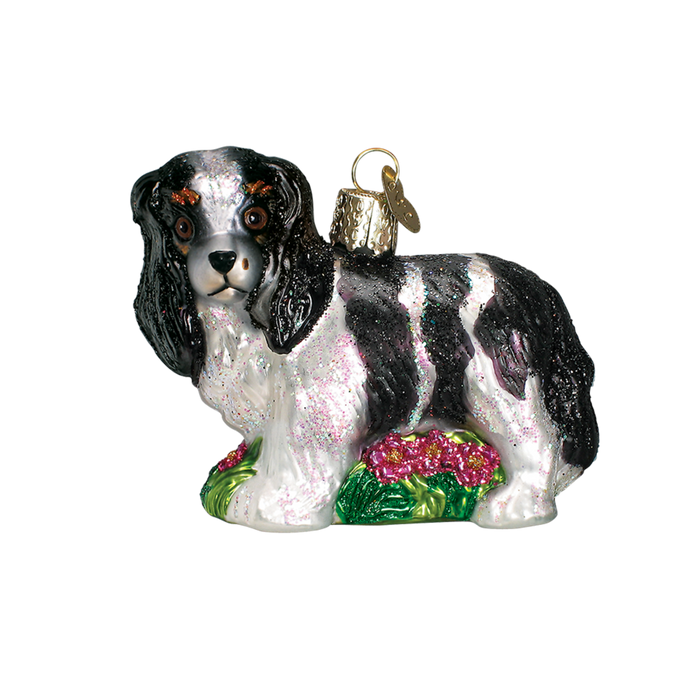 King Charles Cocker Spaniel 12139 Old World Christmas Ornament Assorted