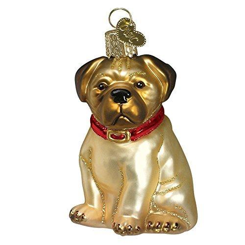 Bull Pug Pugsley 12149 Old World Christmas Ornament