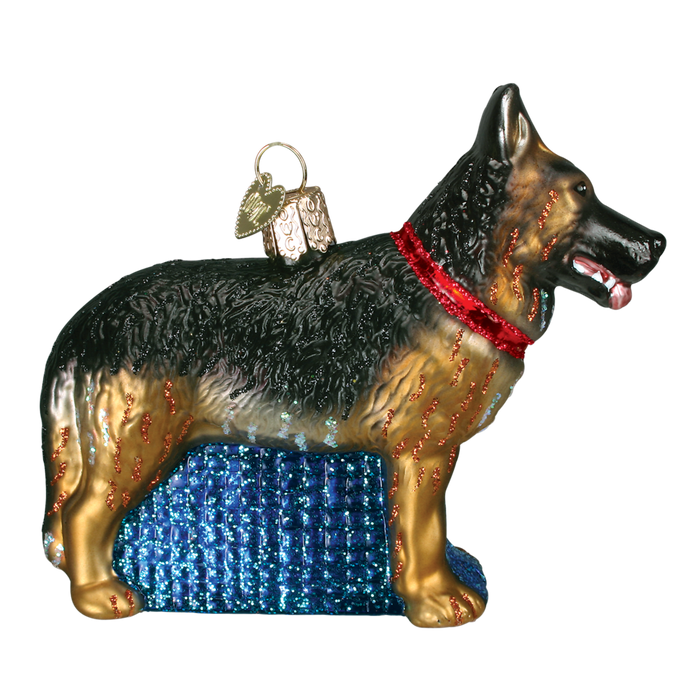 German Shepherd 12212 Old World Christmas Ornament
