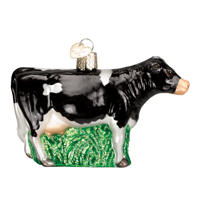 Dairy Cow 12229 Old World Christmas Ornament Assorted