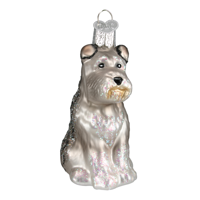 Schnauzer Dog 12264 Old World Christmas Ornament Assorted