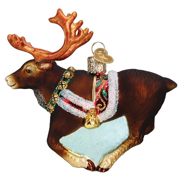 Reindeer Old World Christmas Ornament 12573
