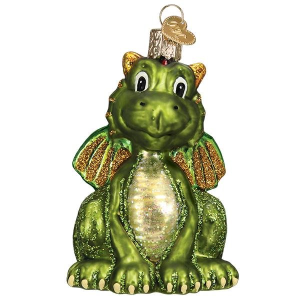 Little Dragon Old World Christmas Ornament 12575