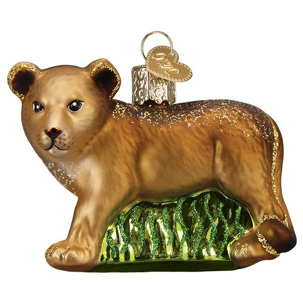 Lion Cub Old World Christmas Ornament 12581