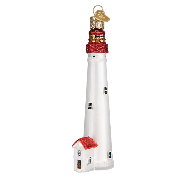 Cape May Lighthouse Old World Christmas Ornament 20115
