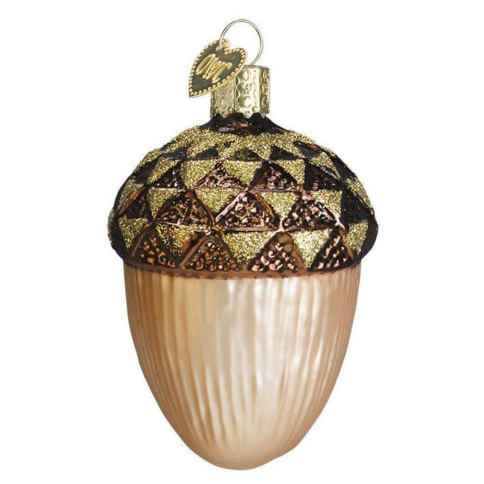 Large Acorn 28011 Old World Christmas Ornament