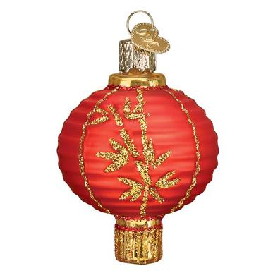 Chinese Lantern 32405 Old World Christmas Ornament