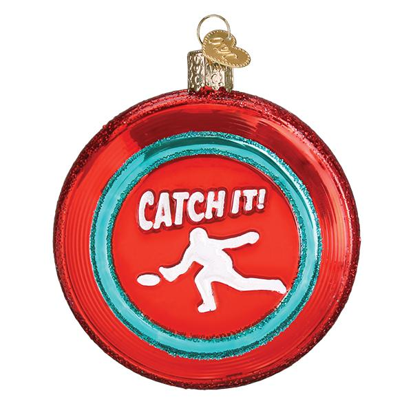Sports Disc Old World Christmas Ornament 44154