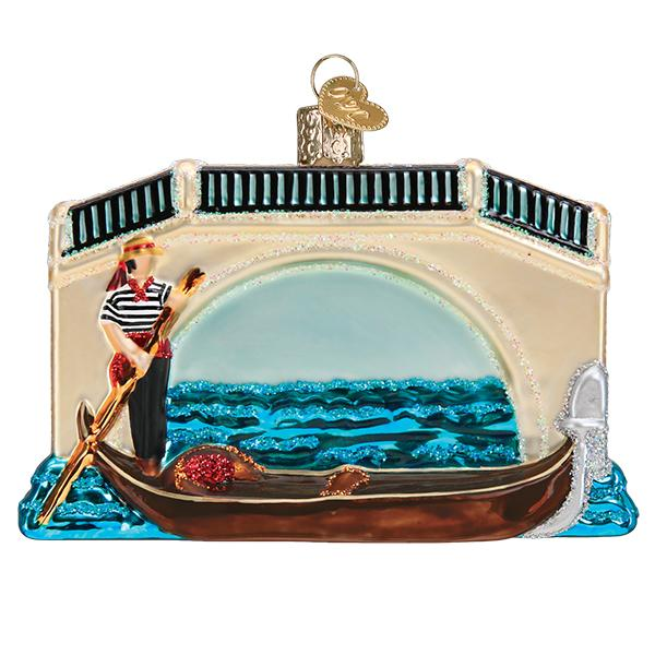 Gondola Old World Christmas Ornament 46093