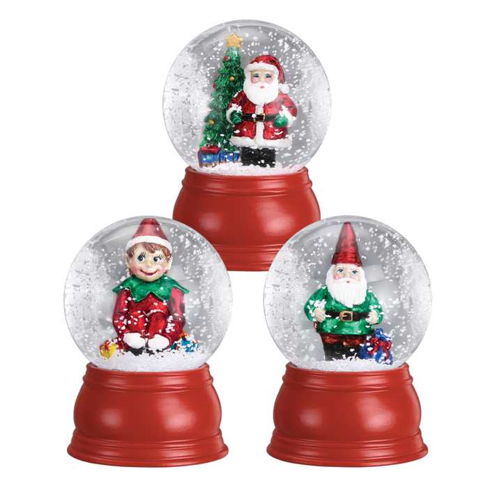 Mini Snow Globe 54005 Old World Christmas Assorted