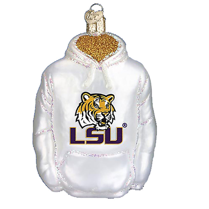 LSU Hoodie 60303 Ornament Old World Christmas