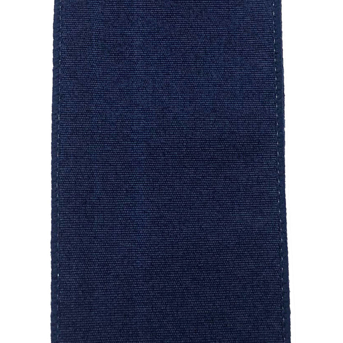 "2.5"" Navy Micro Fluff Ribbon 72058-40-27"