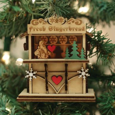 Ginger Market GC129 Old World Christmas Ornament 80026