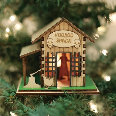 Roscoe's Voodoo Shack GB108 Old World Christmas Ornament 82007