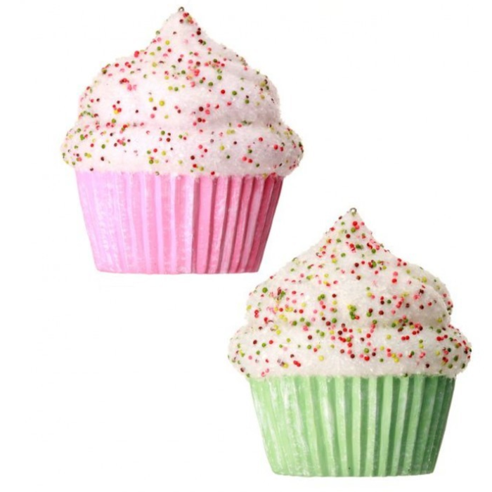 "5.5"" Cupcake with Sprinkles Set of 2 MTX65677"