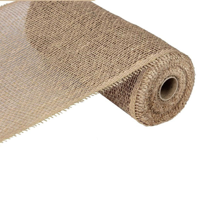 "10"" Natural Poly Jute Mesh RB820218"