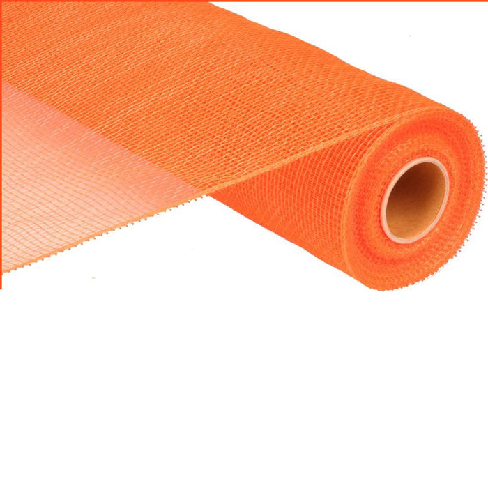"21"" Orange Deco Poly Mesh RE100220"