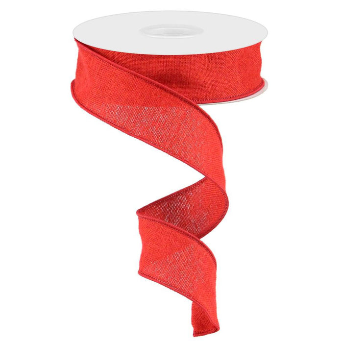 "1.5"" Red Fuzzy Royal Ribbon RG0191724"