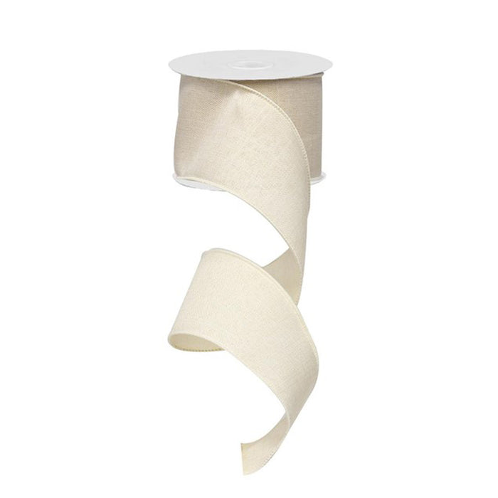 "2.5"" Cream Ribbon RG1279C2"