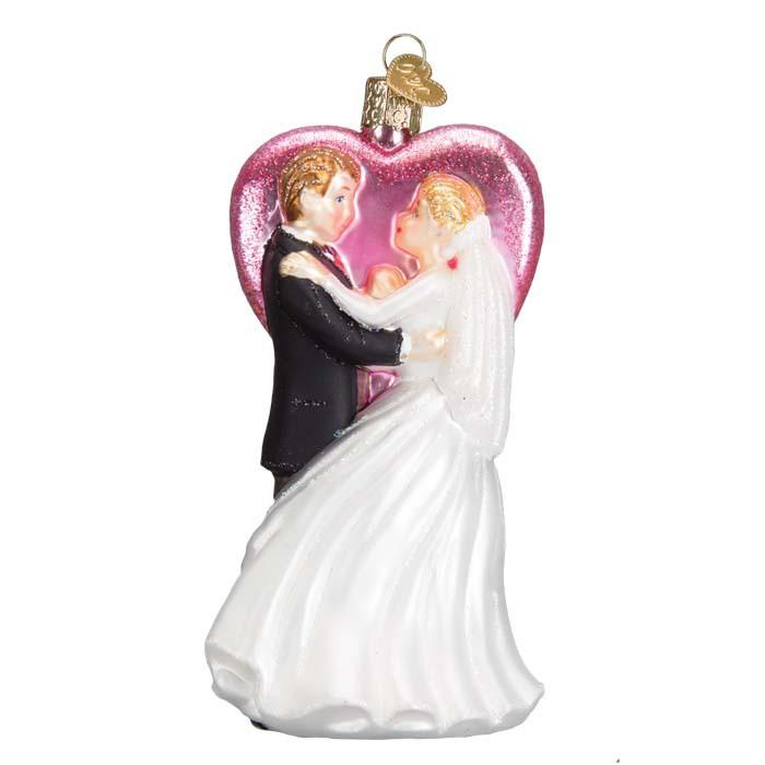 Wedding Dancers 10216 Ornament Old World Christmas