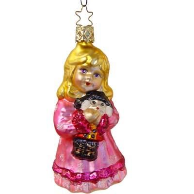 Clara Christmas Ornament Inge-Glas of Germany 1-041-06
