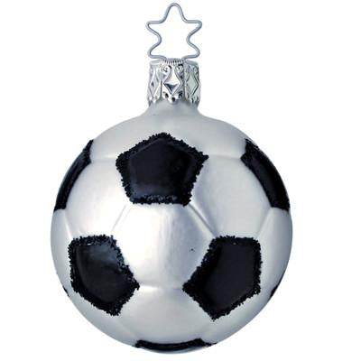 World Cup Winner Soccerball Christmas Ornament Inge-Glas of Germany