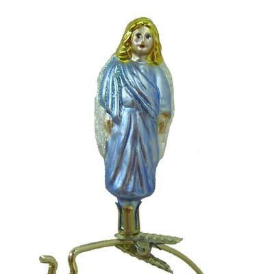 Heavenly Perfection Angel Christmas Ornament Inge-Glas of Germany 1-071-06
