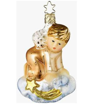 Limited Edition On Heaven's Cloud Inge-Glas Christmas Ornament 1-083-09