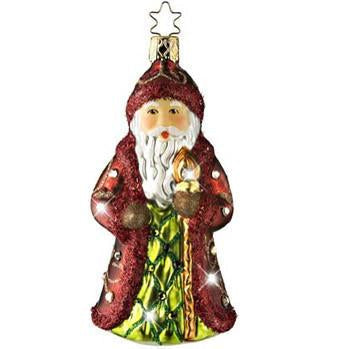 St. Nikolaus Treasure Ornament Inge-Glas