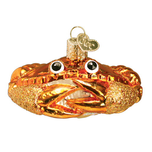 Crab Louie 12022 Old World Christmas Ornament