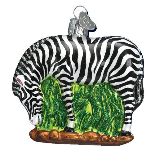 Zebra 12051 Old World Christmas Ornament