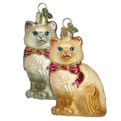 Himalayan Kitty 12089 Old World Christmas Ornament