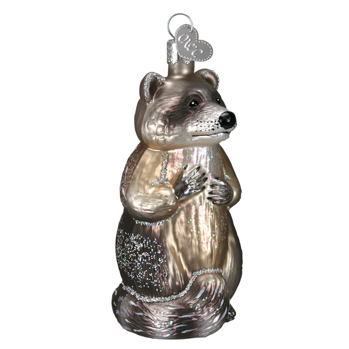 Raccoon 12146 Old World Christmas Ornament