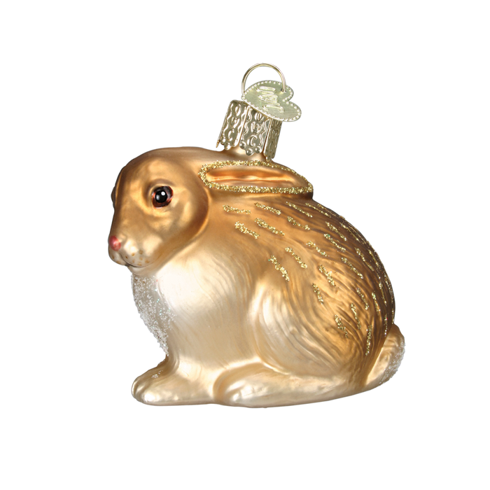 Cottontail Bunny 12192 Old World Christmas Ornament Assorted