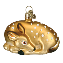 Fawn 12201 Old World Christmas Ornament