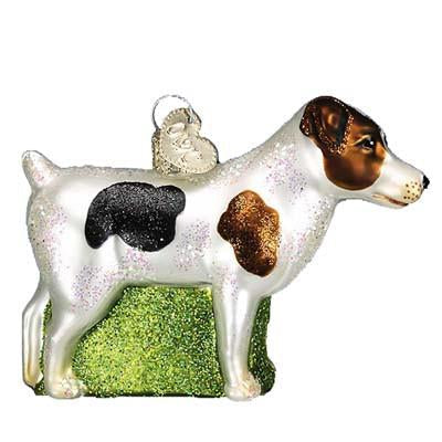 Jack Russell Terrier 12218 Old World Christmas Dog Ornament