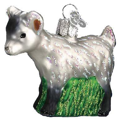 Pygmy Goat 12285 Old World Christmas Ornament