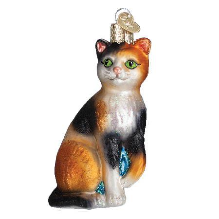 Calico Cat 12399  Old World Christmas Ornament