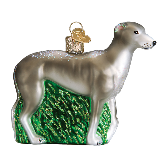 Greyhound 12483 Old World Christmas Ornament