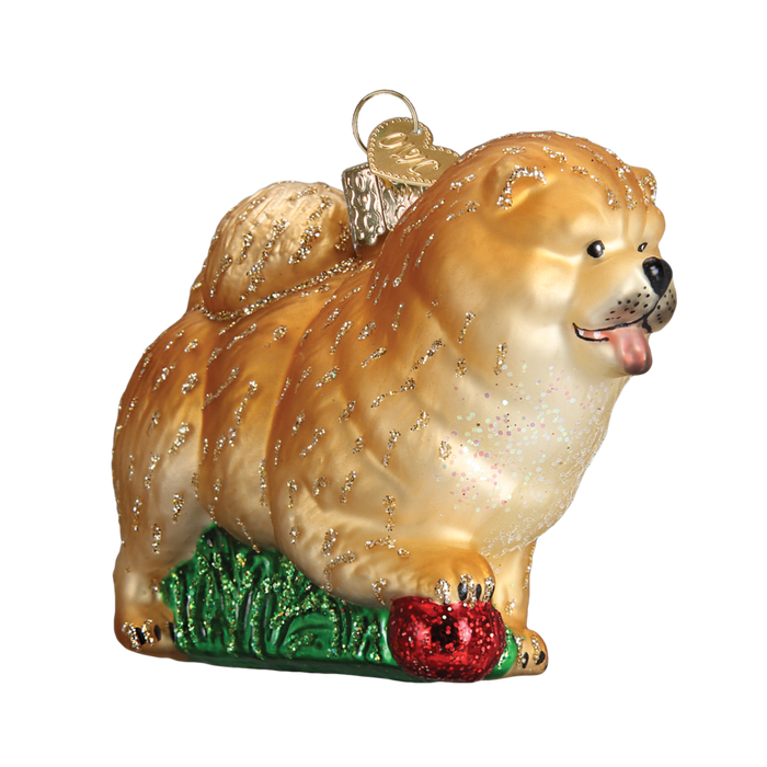 Chow Chow Dog 12497 Old World Christmas Ornament
