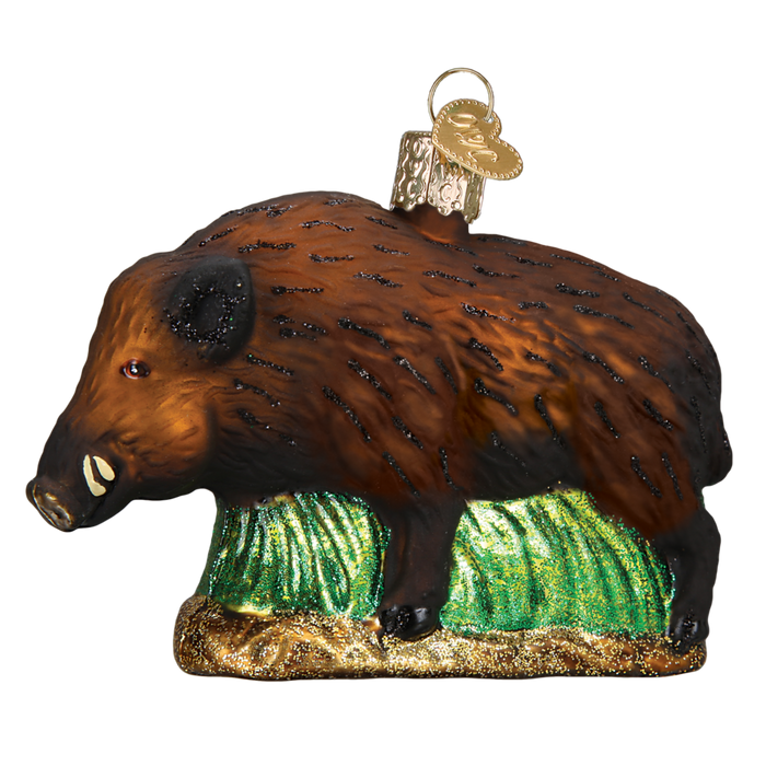 Wild Boar 12500 Old World Christmas Ornament
