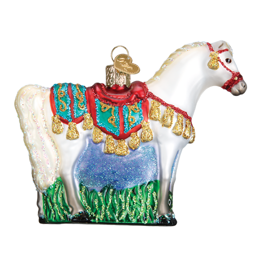 Arabian Horse 12507 Old World Christmas Ornament
